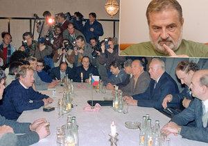 Exšéf svazáků Vasil Mohorita (64) pro Blesk o konci totality: Listopad a Havel? Vše dopředu připraveno.