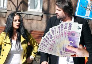Manželé Jiří a Andrea Pomeje se hádají kvůli penězům!