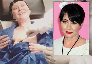 Shannen Doherty bojuje s rakovinou.