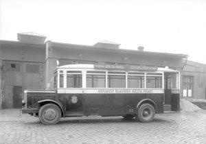 První autobusová linka v Praze vyjela před 110 lety (ilustrační foto).
