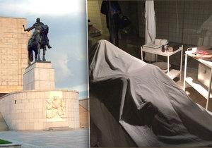 V památníku na Vítkově několik let vystavovali tělo prezidenta Klementa Gottwalda. Takto vypadala laboratoř.