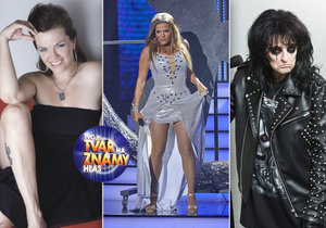 Tvoje tvář má známý hlas jde do finále: Marta Jandová se proměnila v Alice Cooper, Beyoncé či svého otce.