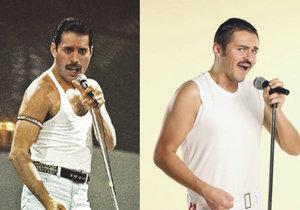 Česká napodobitel zpěváka z kapely Queen Jaroslav Břeský: Zpívat jsem začal kvůli Freddiemu.