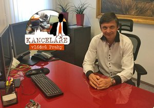 Odtud vládne Praze 5 starosta Radek Klíma (TOP 09).