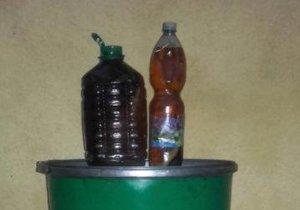 Oleje a tuky odevzdávejte ideálně v PET lahvích.