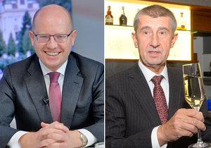 Bohuslav Sobotka si rýpl do Andreje Babiše, kterému se nezamlouvají koalice po krajských volbách.