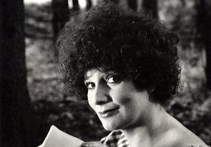 Laďka byla velkou hvězdou karlínského divadla.