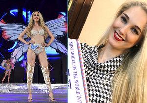 Češka vyhrála na Miss Model of the World: Těžká nehoda a otřes mozku ji málem o cestu za titulem připravily