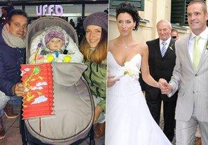 Nikol je stále ještě vdaná za Petra Zvěřinu, ale už dávno má novou rodinu.