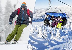 Kam na lyže: Kolik kde zaplatíte za zimní radovánky?