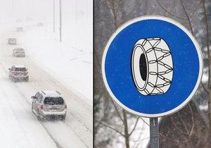 Pozor při jízdě na sněhu