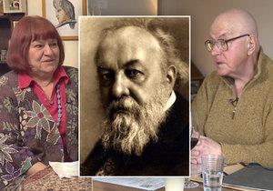 Jaroslav Vojna tvrdí, že Pálková lže a on je přímým potomkem Mikoláše Alše.