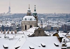 V Praze napadne sníh.