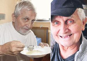 Jaroslav Čejka žije v domově důchodců. Přišel o zuby i o peníze.