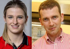 Petr Havlíček čeká syna s o 22 let mladší fotbalistkou Hanou Sloupovou.