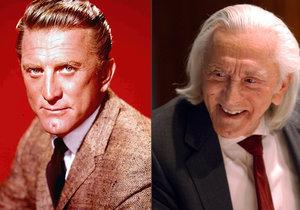 Slavný herec Kirk Douglas oslavil 100 let.
