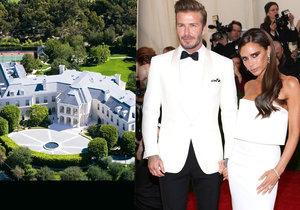 Beckham pro rodinu kupuje nejdražší barák Ameriky!