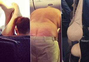 Divnolidi v letadle