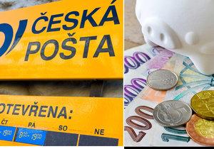 Česká pošta od dubna navýší mzdy zaměstnanců.