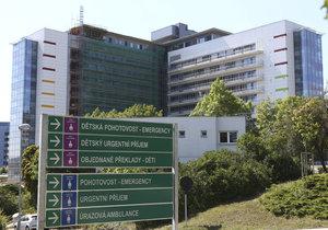 Nemocnice Motol zažila drama na dětském oddělení.
