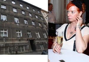 Herečka Bára Štěpánová přišla o svůj byt zbytečně. Mohla ho zachránit, ovšem má panický strach z úředníků.