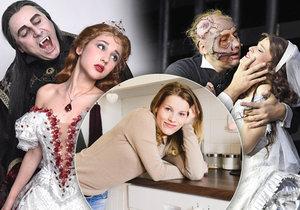 Hvězda muzikálů Fantom opery a Ples upírů Michaela Gemrotová kvůli nemoci nemůže v noci spát.