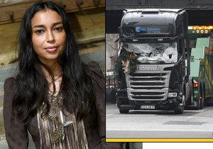 Iazua Larios byla svědkyní toho, jak vjel v Berlíně náklaďák do davu.
