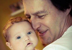 Pavol se svou vnučkou Elisabeth