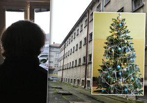 """""""Myšlenky jsou o Vánocích agresivnější,"""" popsal Blesku také odsouzený V. R., který tráví na Pankráci už osmé svátky."""