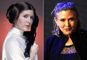 Princeza Leia alias Carrie Fisher dostala infarkt.