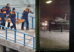 U Soči se zřítilo letadlo s Alexandrovci, obětí je zřejmě 92.