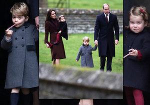 Vévodkyně Kate ukázala rozkošné děti.