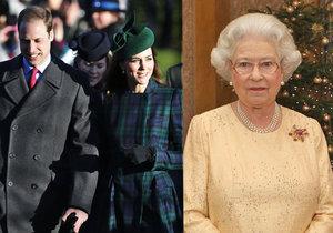 Jak tráví svátky britská královská rodina?