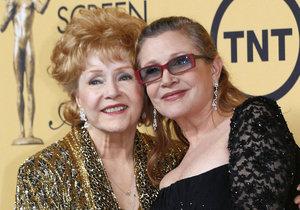 Zemřela herečka Debbie Reynolds, matka Carrie Fisher