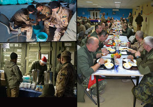 Vojáci Armády ČR na misích v Afghánistánu a Iráku slavili Vánoce