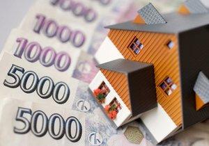 Úrokové sazby hypoték mírně klesly, ceny bydlení se ale drží v extrémních výších. (Ilustrační foto)