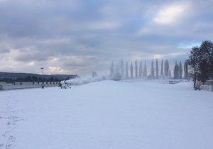 Ilustrační foto. Skipark, když byl ve Velké Chuchli.