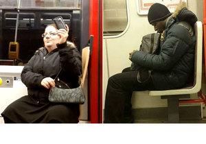 Lidé rádi fotí či natáčí ostatní cestující a záběry pak umisťují na internet. Hvězdami se stala i Jana či muž v metru.