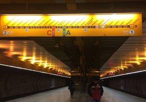 Stanice metra B Jinonice se na více než půl roku uzavřela.