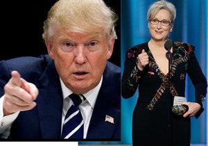 Herečka Meryl Streepová kritizovala Donalda Trumpa během své děkovné řeči na udílení cen Zlatého Glóbu.