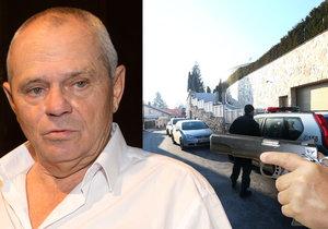 Detaily ze střelby v Kňažkově vile: Zloděj chtěl ukrást stovky tisíc korun!