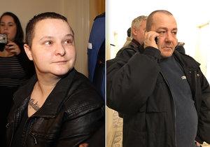 Kamarád vražedkyni z Anděla přišel Michelle S. pozdravit k soudu.