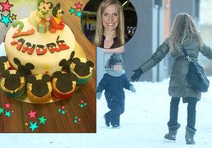 Syn Míši Ochotské oslavil narozeniny. Smál se jen myšák na dortu.
