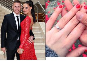 Jsou zasnoubení, mají dceru a teď si konečně řeknou ano. Tereza Chlebovská a Pavel Kadeřábek plánují svatbu.