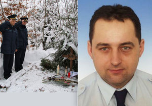 Před deseti lety jim při orkánu Kyrill zemřel kolega: Hasiči uctili památku tragicky zemřelého Dušana.