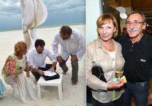 Hanka Kousalová říká, že fotografie ze svatby se Zedníčkem prodali kvůli penězům na ledvinu.