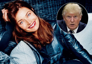 Pavlína Pořízková se navezla do Donalda Trumpa.