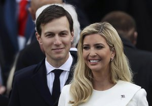 Dcera prezidenta USA Ivanka Trump s manželem Jaredem Kushnerem