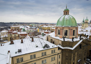 Mrznout bude v ČR do konce ledna, pak se oteplí.
