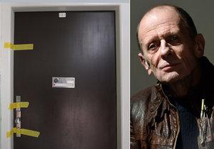 Byt zesnulého Michala Pavlaty zapečetila policie. Co se tam stalo?